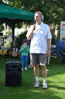 Richard Dorey at the 2011 Waterways summer barbecue